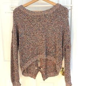 Crop Top Express Sweater